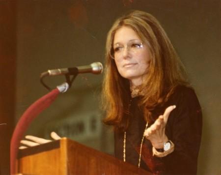 Photo courtesy of the Office of Gloria Steinem, gloriasteinem.com/photos/
