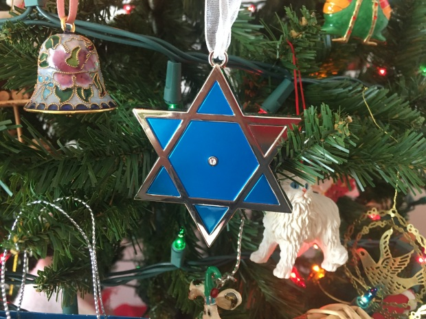 Star of David on Christmas Tree - by Jeanne - IMG_1430 - 12-7-19